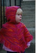 Knitting Pure and Simple #243 Children's Poncho