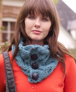 Rowan Big Wool Drift Cowl Kit - Scarf and Shawls
