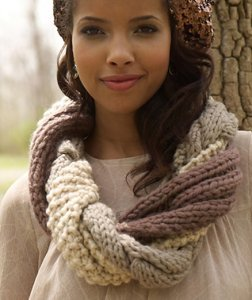 Rowan Big Wool Twine Cowl Kit - Scarf and Shawls