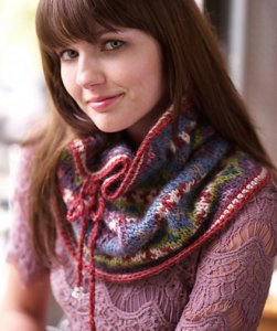 Rowan Cocoon Miss Garricks Cowl Kit - Scarf and Shawls