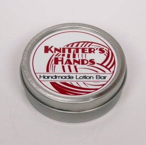 Alsatian Soaps & Bath Products Knitter's Hands - Stitch Red Tin