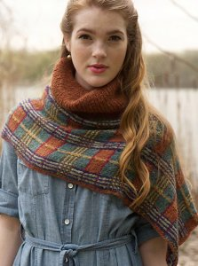 Rowan Lima Ceilidh Shawlette Kit - Scarf and Shawls