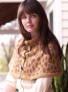 Rowan Felted Tweed DK Kitty Capelet Kit - Scarf and Shawls