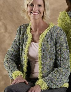 Trendsetter Zoe and Baja Openwork Cardigan Kit - Women's Cardigans