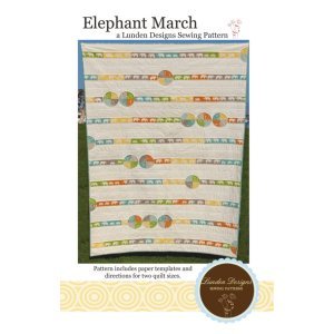Lunden Designs Pattern - Elephant March Pattern