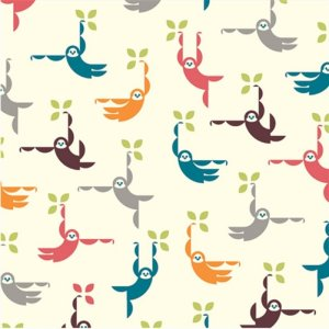 Birch Fabrics Safari Soiree Fabric - Monkey Swing (DS-16)