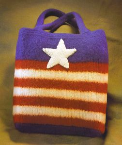 Felted Pursenalities Americana Tote Kit - Felting