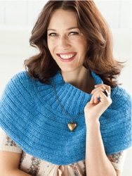 Lorna's Laces Shepherd Worsted Ribbed Cowl Kit - Scarf and Shawls