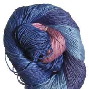 Araucania Ruca Yarn - 028 - Rose, Lt.Turq, Cornflower Blue