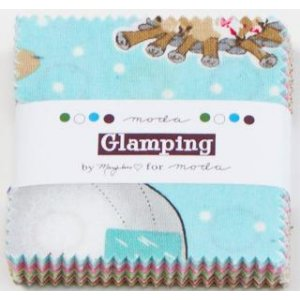 Mary Jane Glamping Precuts Fabric