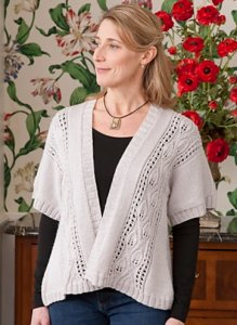 Classic Elite Liberty Wool Solid Supersonic Cardigan Kit - Women's Cardigans