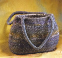 Felted Pursenalities Vintage Bubble Bag Kit - Felting