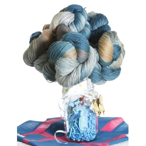 Jimmy Beans Wool Koigu Yarn Bouquets - Royal Baby Bouquet - Full Snips and Snails