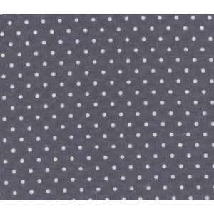 Me and My Sister Shades of Black Fabric - Dotted Swiss - Grey (22167 33)