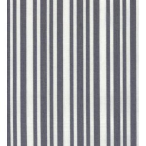 Me and My Sister Shades of Black Fabric - Laughing Stripes - White/Grey (22196 33)