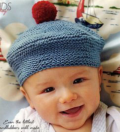 Debbie Bliss Eco Baby French Beret Kit - Baby and Kids Accessories