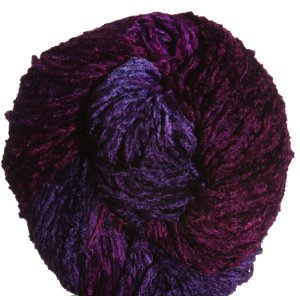 Blue Heron Yarns Bulky Rayon Chenille Yarn - Blueberry