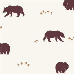 Birch Fabrics Camp Sur Fabric - Bear Camp (CS-09)