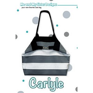 Me and My Sister Designs Sewing Patterns - Carlyle Tote Pattern