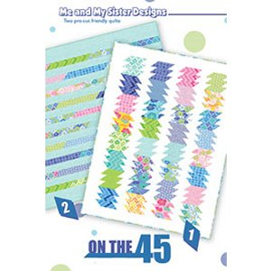 Me and My Sister Designs Sewing Patterns - On The 45 Pattern