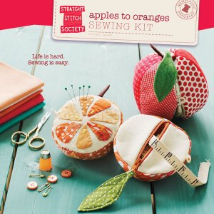 Straight Stitch Society Sewing Patterns - Apples to Oranges Sewing Kit Pattern Pattern
