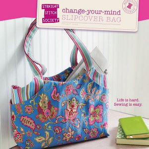 Straight Stitch Society Sewing Patterns - Change Your Mind Slipcover Bag Pattern