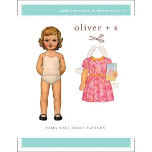 Oliver + S Sewing Patterns - Fairy Tale Dress (6 months - 4) Pattern