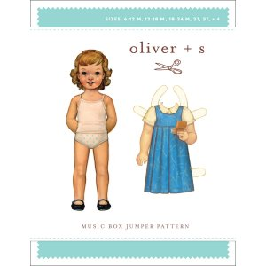 Oliver + S Sewing Patterns - Music Box Jumper (5-12 years) Pattern