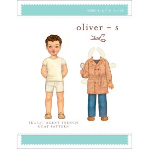 Oliver + S Sewing Patterns - Secret Agent Trench (6 months - 4) Pattern