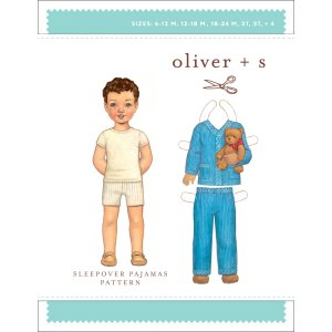 Oliver + S Sewing Patterns - Sleepover Pajamas (6 months - 4) Pattern