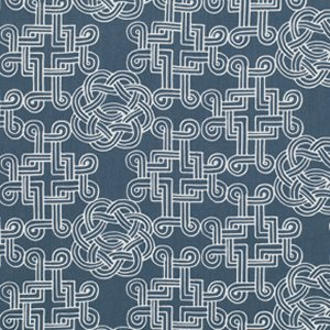 Parson Gray World Tour Fabric - Canterbury - Water