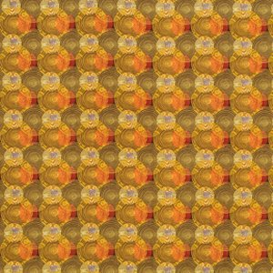 Mark Cesarik Summer Camp Fabric - Tree Rings - Gold