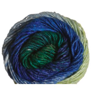 Noro Silk Garden Yarn - 391 Turquoise, Sand (Discontinued)