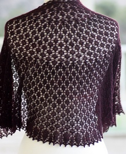 Rosemary Romi Hill Home Is Where The Heart Is Patterns - Shawl #6 - Blackjack Pattern