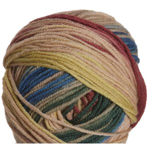 Schachenmayr select Extra Soft Merino Color Yarn - 05292 Beige/Burgundy