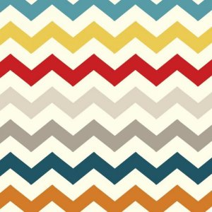 AdornIt Basic Fabric - Chevron - Multi