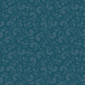 AdornIt Basic Fabric - Twirl - Navy