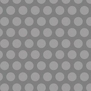 AdornIt Basic Fabric - Grid Dot - Gray
