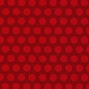 AdornIt Basic Fabric - Grid Dot - Red