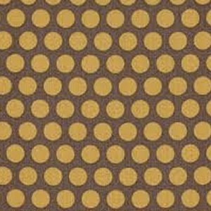 AdornIt Basic Fabric - Grid Dot - Gray/Yellow