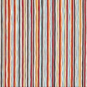 AdornIt Basic Fabric - Hoot Stripe - Charcoal