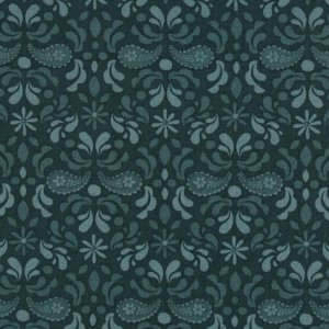 AdornIt Basic Fabric - Paisley Damask - Blue
