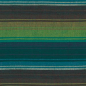 Kaffe Fassett Woven Stripe Fabric - Exotic Stripe - Emerald