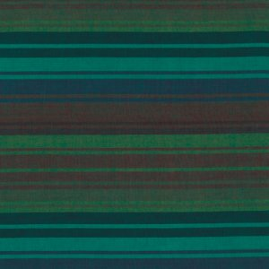 Kaffe Fassett Woven Stripe Fabric - Exotic Stripe - Mallard