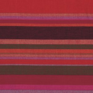 Kaffe Fassett Woven Stripe Fabric - Roman Stripe - Blood Orange