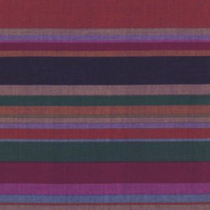 Kaffe Fassett Woven Stripe Fabric - Roman Stripe - Shadow