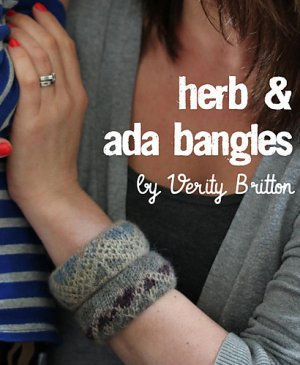 Baa Ram Ewe Patterns - Herb & Ada Bangles Pattern