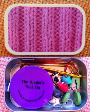 The Sexy Knitter - Knitter's Tool Tins
