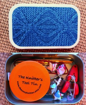 The Sexy Knitter Knitter's Tool Tins - Aviatrix