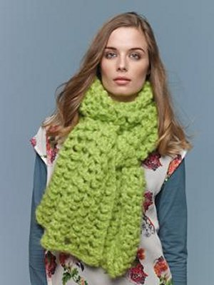 Rowan Tumble Slip Scarf Kit - Scarf and Shawls